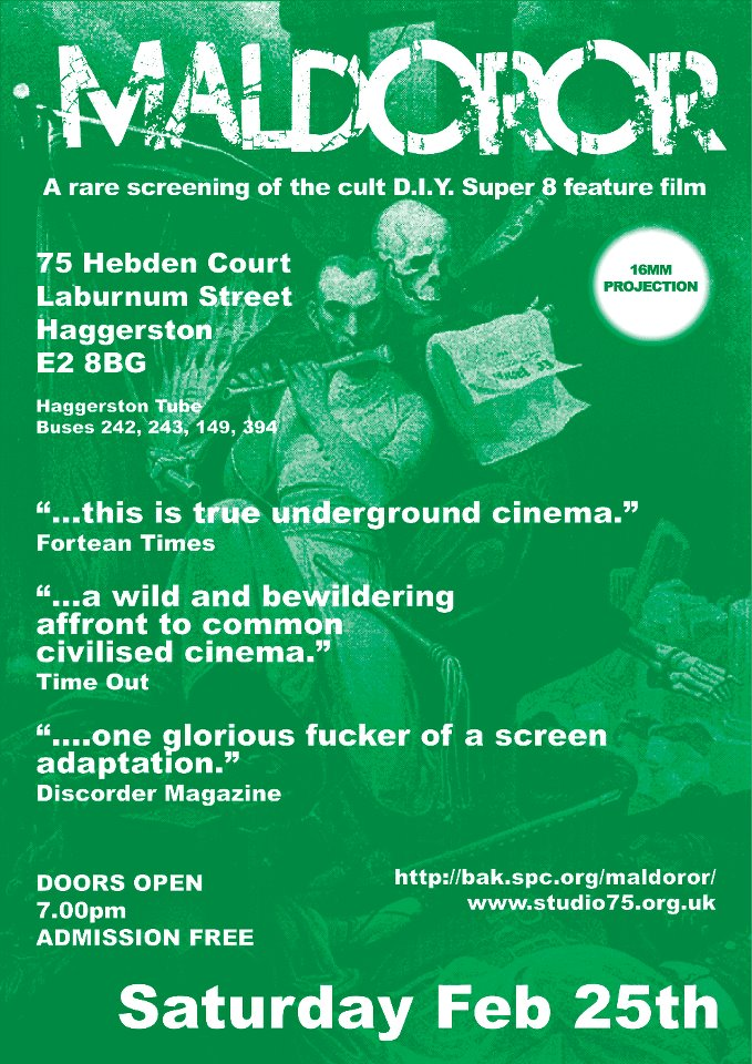 Maldoror: the Film Maldoror: the Film